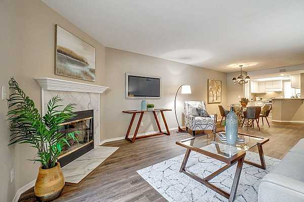 Photo #1 WELCOME TO 5881 Gloria Dr., #5 in the Southland Village Condominium Community and recently updated throughout.