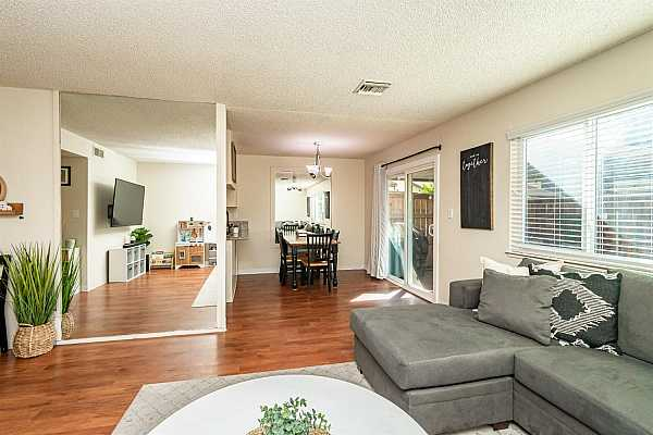 Photo #7 Great flow in this open concept living space.